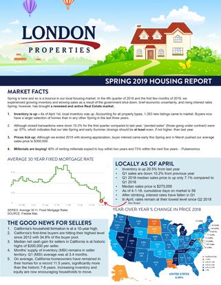 2019 Spring Housing Report