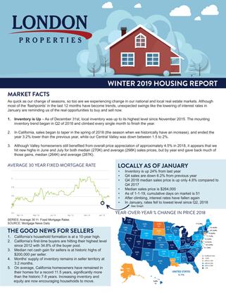 2019 Winter Housing Report