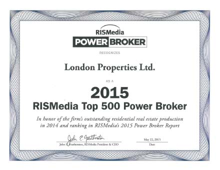 London Properties Power Broker 2015