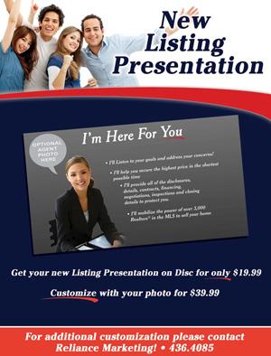 New Listing Presentation